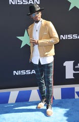 Ne-Yo arrives at the BET Awards on June 23 at the Microsoft Theater in Los Angeles.