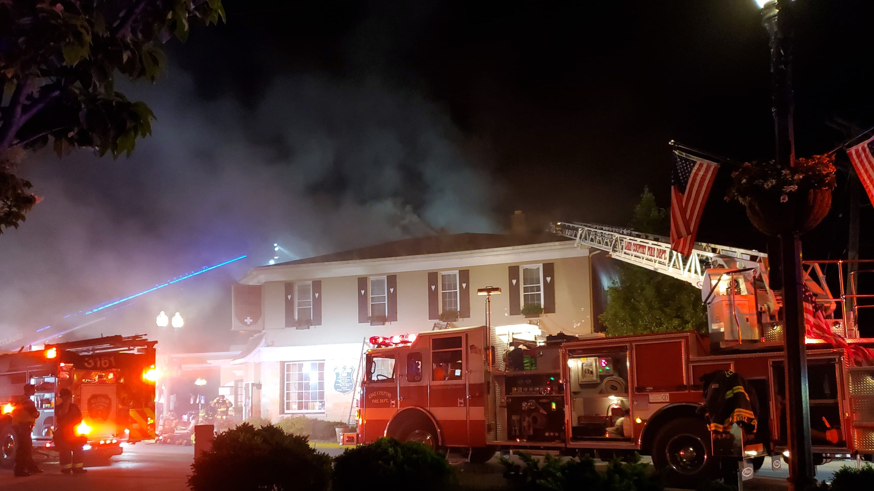 Two-alarm Fire Breaks Out At Historic Hartland Building