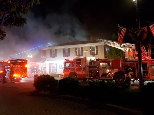 A fire broke out at Max Meier's Hartland Inn on June 29.