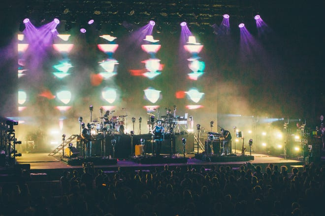 Bon Iver performs at the American Family Insurance Amphitheater on June 29, 2019.