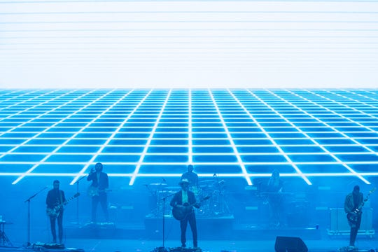 Lord Huron opens for Bon Iver at the American Family Insurance Amphitheater on June 29, 2019.
