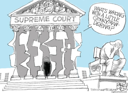 "The U.S. Supreme Court: ""What's wrong with a little gerrymandering?"""