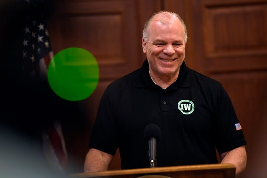 """We gave him a budget that was as solid as could be,"" says Senate President Steve Sweeney of the 2019/2020 budget Gov. Murphy signed on Sunday, June 30, 2019, in Trenton."
