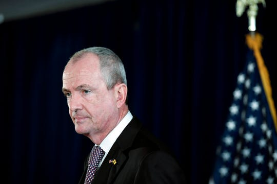 Governor Phil Murphy announces the signing of the state budget for 2019 and 2020 on Sunday, June 30, 2019, in Trenton.