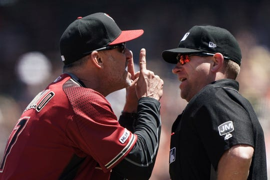 """""""Look, I'm not proud of it,"""" Lovullo said. """"But I've got to battle for these guys in the right place and the right time, and I felt like I needed to do that."""""""