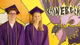 Scenes from Rhinebeck High School's 2019 commencement ceremony.