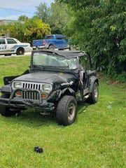 Man flown to Lawnwood after crashing into tree in Jeep Sunday in Stuart