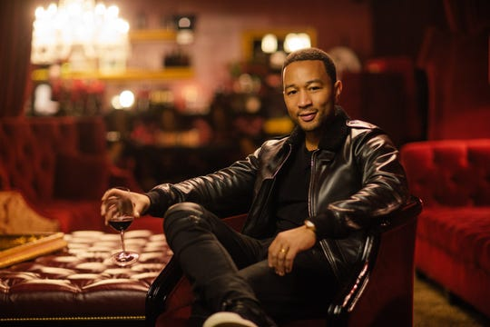 "John Legend spends his time balancing fatherhood, coaching on NBC's ""The Voice"" and creating for his wine brand LVE Wines."