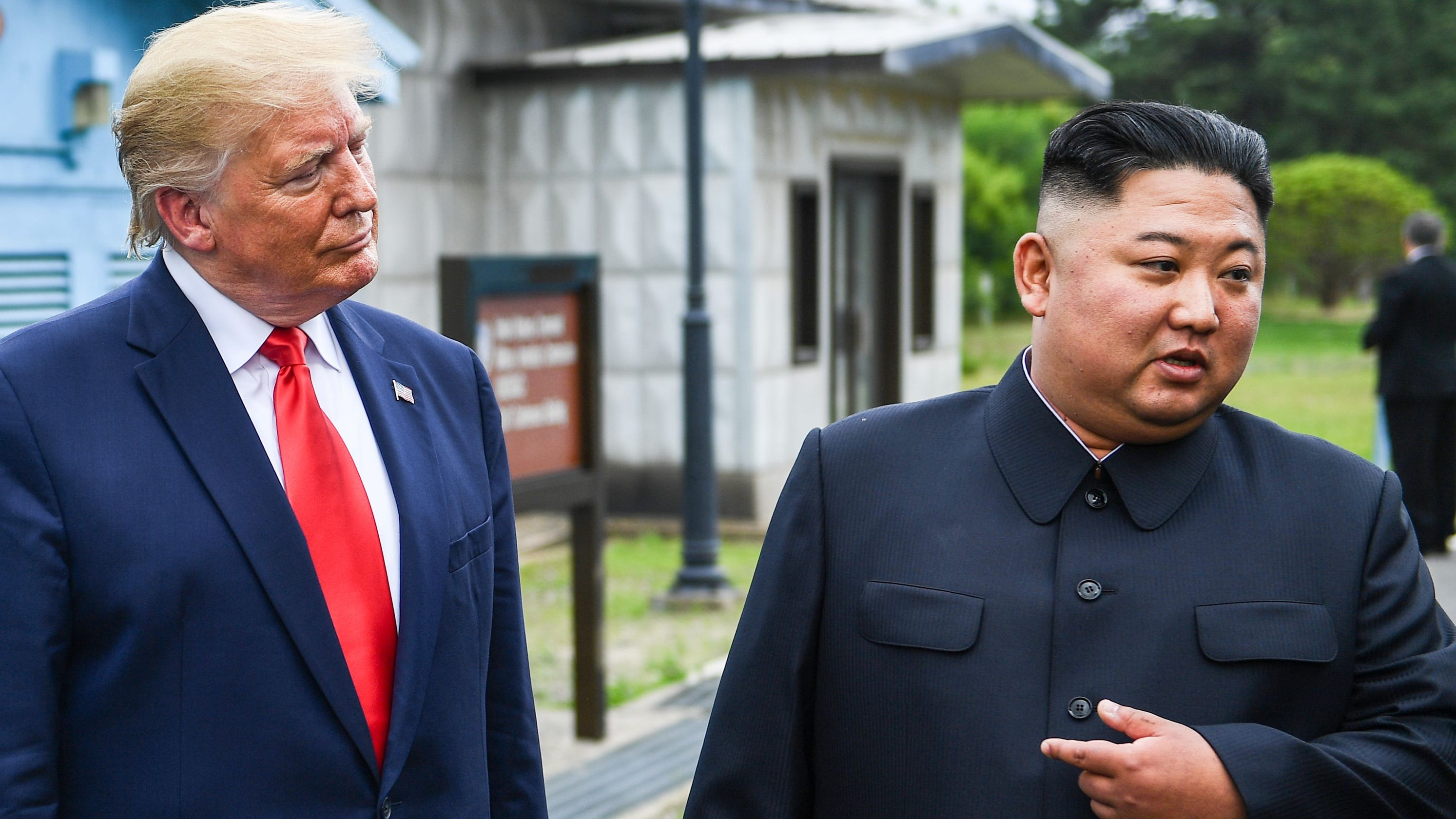 Image result for trump and kim jong un photos