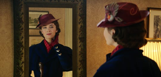 "Emily Blunt stars as Mary Poppins in ""Mary Poppins Returns."" Catch it on Netflix on July 9."