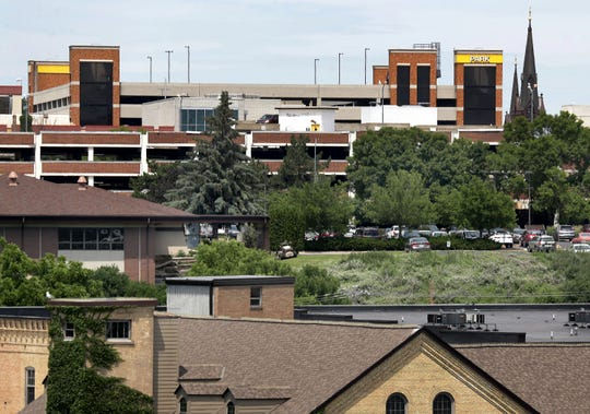 Appleton has agreed to redevelop Bluff Site 1 as the new headquarters of U.S. Venture. The city will build a 625-stall underground parking ramp that will double as the foundation of the U.S. Venture building.