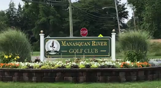 Manasquan River Golf Club opposes the giant golf net placed by neighbor Ron Dana on his adjacent land.