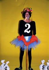 Few but Clint Hamilton would dare to wear a tutu to celebrate Y2K in Abilene.