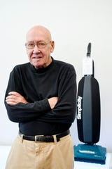 Steve Koch, owner of Saniway Vacuum Cleaner Company July 1, 2019.