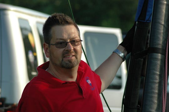 Phil Clinger will be the hot air balloon event director this year.