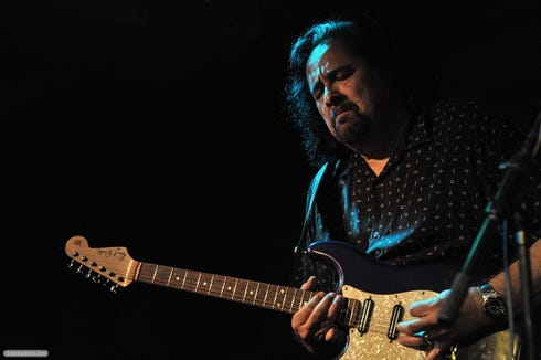 Coco Montoya returns to the Admiral for a fourth appearance March 7.