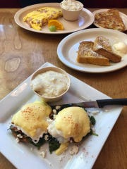 Mariel Patterson said she enjoyed the best breakfast she's had in two years at Mulberry Lane Cafe in Melbourne.