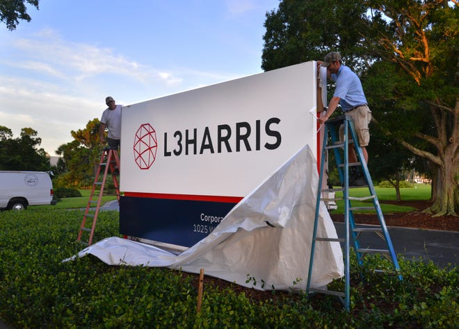 The new company, L3Harris, merged in July 2019.