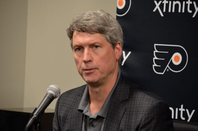 Flyers general manager Chuck Fletcher spent the first day of free agency mostly re-tooling the AHL roster for the Lehigh Valley Phantoms.