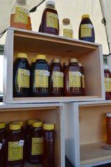 Williams Honey Bees sells a wide variety of honey like spring, fall, summer, lavender infused, buckwheat and more. The flavor of the honey is dependent on the season it's taken from the hives and the flavors acquired by the bees.