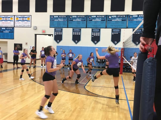 Adena High School hosted its 27th annual Adena Summer Volleyball challenge as 15 teams battled in pool play and then in gold, bronze, and silver brackets.