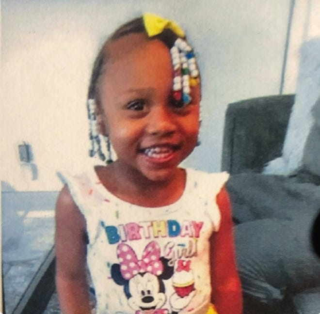3 year old Janyila Turner is missing in Springfield Township. She was last seen wearing a pink onesie with snowflakes. The search is happening on and around Meredith Drive.