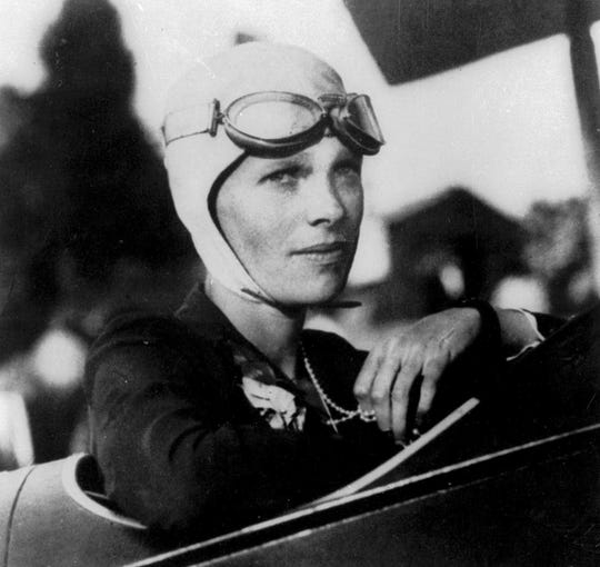 Amelia Earhart and navigator Fred Noonan went missing in 1937 while flying over the Pacific Ocean.