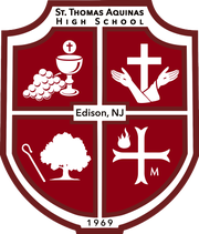 St. Thomas Aquinas High School's crest
