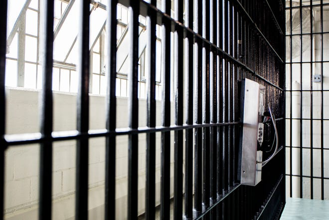 A cell is pictured at the Macomb County Jail in 2019.