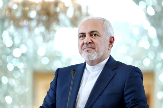 Iranian Foreign Minister Mohammad Javad Zarif  acknowledged Monday, July 1, 2019, Iran had broken the limit set on its stockpile of low-enriched uranium by the 2015 nuclear deal, marking its first major departure from the unraveling agreement a year after the U.S. unilaterally withdrew from the accord.