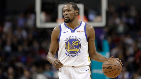 Kevin Durant announced that he's leaving Golden State and joining Brooklyn on a $164 million, four-year deal.