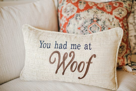 A little whimsy in a room never hurt anyone! Neutral pillows can be full of personality when you tie them into your love of canines.