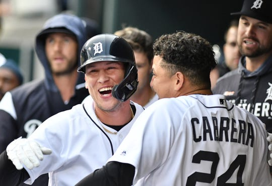 Tigers outfielder JaCoby Jones hit .291, with a .351 on-base average, a .547 slugging percentage and an .898 OPS in June.