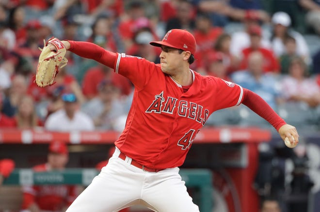 he Los Angeles Angels say pitcher Tyler Skaggs has died at age 27.