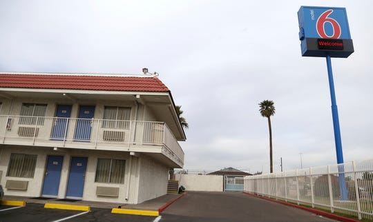This Jan. 29 file photo, shows a Motel 6 in Phoenix. Motel 6 said the settlement will help ensure the company never engages in these practices again.
