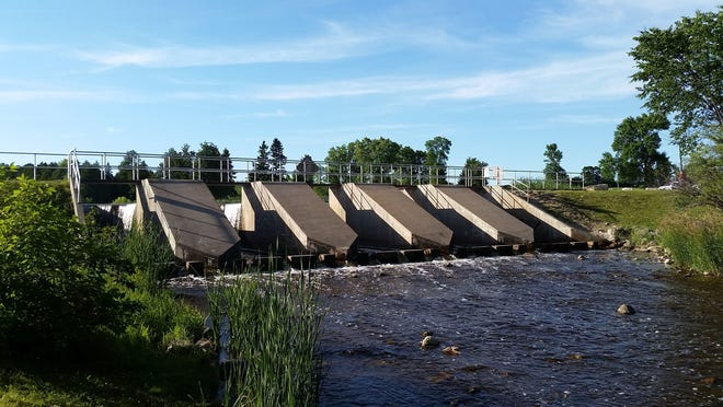 Door County's supervisors approved a draw down of the Forestville Dam millpond in January, 2019.