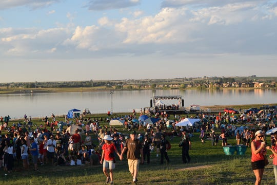 The Town of Timnath expects a few thousand people for this 4th of July celebration, but with 6 available lots near the reservoir, parking will be hassle-free.