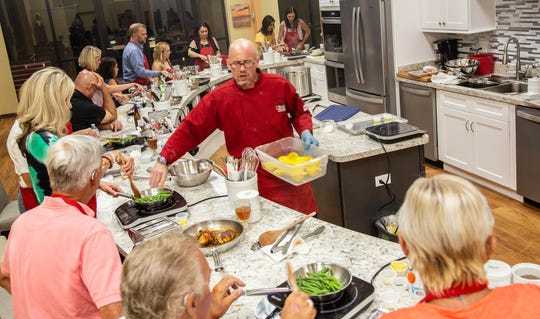 Kitchen Social opened in south Fort Myers in May. The cooking school offers casual, comfortable classes for cooks of all levels.