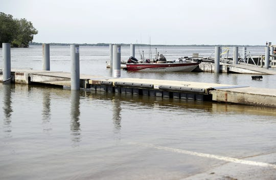 The Green Bay Metro Boat Launch is pictured on June 27, 2019.