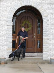 Todd Jordan, owner of Jordan Detection K9, helped search the home of former Subway spokesman Jared Fogle in 2015. Jordan will train CCSO's new electronic detection dog.