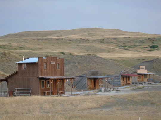 The Sun River Rangers Shooting Society's Old West town at 16663 MT Highway 21 near Augusta.