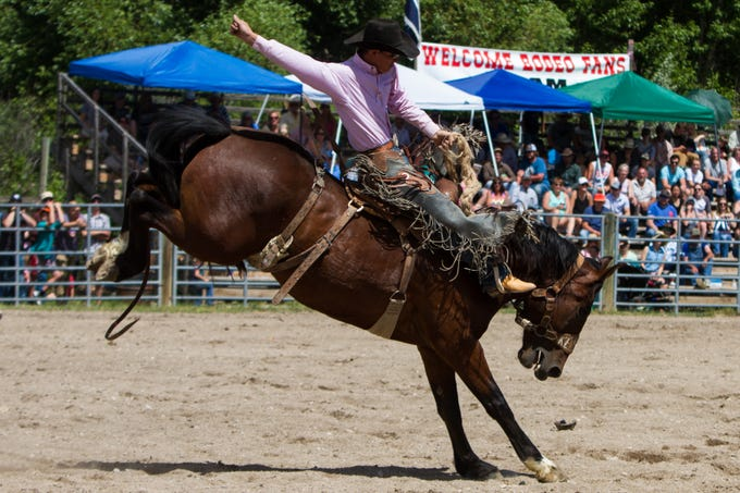 The 83rd annual Augusta American Legion Rodeo in Augusta, MT.