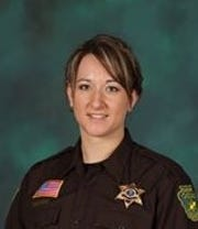 Cascade County Sheriff's Office Detective Angel Creech will be the handler of CCSO's new electronic detection dog later this year.
