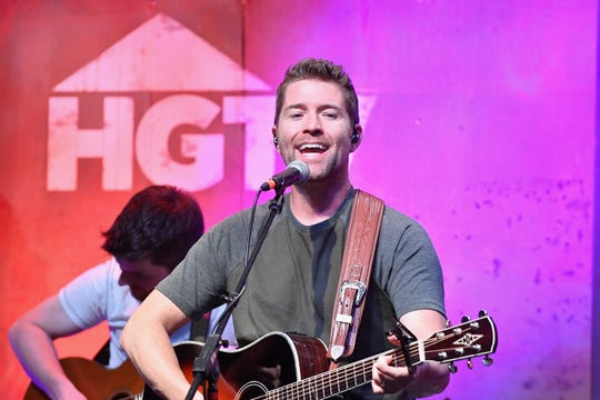 Singer Josh Turner performs onstage at the HGTV Lodge during CMA Music Fest on June 9, 2017, in Nashville, Tennessee.  He'll be performing at the Brown County Music Center.