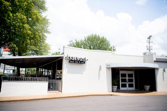 Harvest, formerly Shuck, on 5200 Kinsgston Pike in Knoxville, Tennessee on Friday, June 28, 2019. Shuck is repurposing the space into a new restaurant, Harvest.