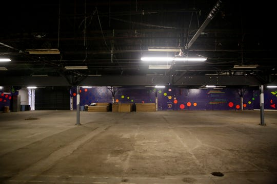 A look inside the Great United Skates, 135 S Earl ave., Monday, July 1, 2019 in Lafayette. The original rink, Great Skates Fun Center, opened in 1999, and closed in 2013 due to financial struggles.