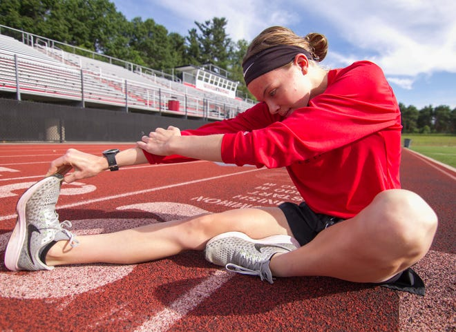Noelle Adriaens of Pinckney had the highest finish by a Livingston County athlete in the state meet, placing third in the 3,200-meter run.