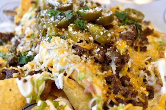 The Super Nachos at Bandido Taqueria Mexicana Restaurant in Louisville. June 26, 2019