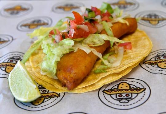 The Baja Fish Taco at Bandido Taqueria Mexicana Restaurant. June 26, 2019