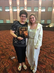 Big Brothers Big Sisters of Manitowoc County Match of the Year: Kari Resch and Michelle Dolphin.